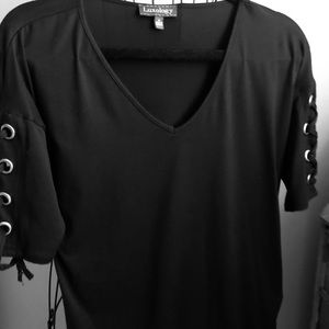 Luxology black womans shirt